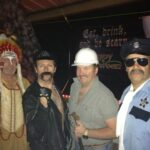 Brad Thompson Band costume party