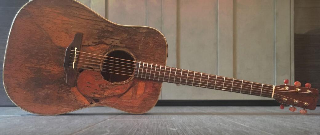 Brad Thompson's guitar Barbara