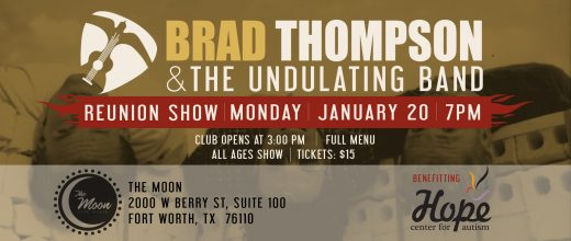 Brad Thompson & The Undulating Band Reunion Show 2020